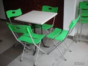 Bộ bàn ghế nhựa đúc,mẫu ND11