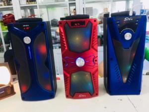Loa Kéo Không Dây Mini Sing-E 181301, Hỗ rợ USB, đài FM, thẻ nhớ - E181301