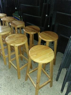 Ghế quầy gỗ bền đẹp