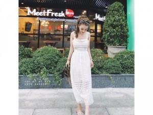 Maxi ren cực xinh cho các bạn nữ dạo phố hoặc đi tiệc