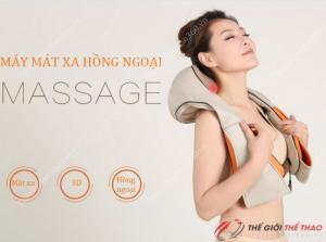 Đai massage vai gáy giảm đau NBF 656 chính hãng Nhật Bản