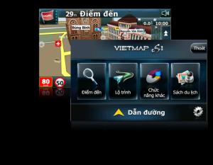 Phần mềm VietMap S1 với thuật toán tìm đường mới dẫn đường hợp lý và chính xác. Giao diện sinh động và nhiều tính năng mới.