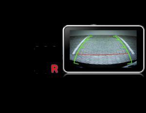 Tự động chuyển sang màn hình camera lùi khi bạn trả số về số R