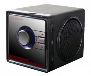 Loa Gỗ Nghe Nhạc Klivien KL-A1A Hỗ trợ thẻ nhớ, USB, FM - MSN181303