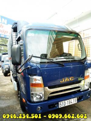 Xe tải Jac 3T45 bảo hành 5 năm