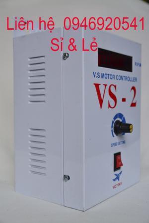 Hộp vs-2, hộp vs trắng, hộp điều khiển tốc độ vs2, hộp điều khiển tốc độ động cơ vs cho máy cán tôn giá rẻ