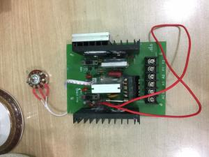Bộ điều khiển tốc độ động cơ nam châm vĩnh cửu, Bộ điều khiển tốc độ động cơ chổi than 1.5hp