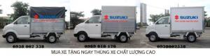 Mua Xe Suzuki Pro Khuyến Mãi Khủng - [ Mua Xe Tải Tặng_Thùng ] Chỉ Với 300 Triệu