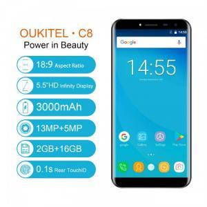 Điện thoại Oukitel C8 2Gb Ram 16Gb Rom