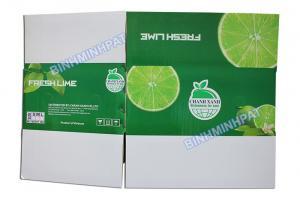 In thùng Chanh, thùng carton 5 lớp in offset đựng chanh xuất khẩu