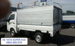 Xe TATA Super ace sử dụng động cơ dầu tiết kiệm kinh tế dành cho chủ xe