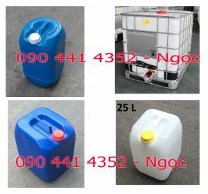 Can nhựa 20l,  can nhựa 20 lít, can nhựa 25 lít, can nhựa 30 lít, thùng nhựa IBC 1000 lít