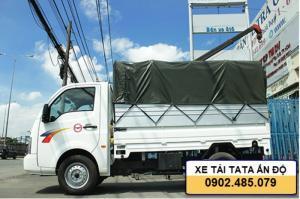 Xe tải TaTa 1tấn Super Ace được nhập khẩu nguyên chiếc từ tập đoàn TaTa Ấn Độ