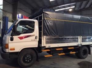 Xe Tải 8.5 Tấn Hyundai HD120s Thùng Mui Bạt