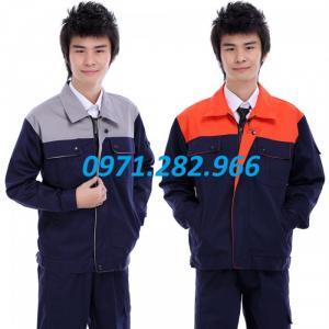 Quần áo bảo hộ tím than pha ghi tại bảo hộ gia bảo