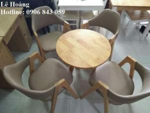 Bộ bàn ghế cabin cho nhà hàng, quán ăn
