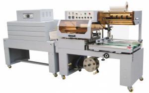 Máy cắt dán và rút màng co POF, máy đóng gói màng co hộp tự động BS-D4520