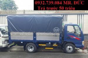Bán xe tải jac 2.4 tấn Việt Nam/ Hỗ trợ vay vốn 90% giá trị xe