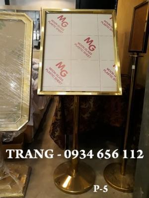 Biển chỉ dẫn tòa nhà, khách sạn, nhà hàng, bảng chỉ dẫn inox giá rẻ tại Hà Nội