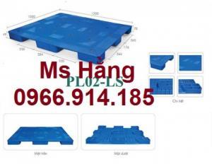 Cung cấp Pallet nhựa PL02LS giá rẻ