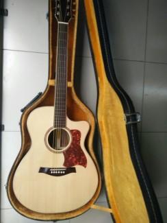 Guitar Acoustic Gỗ Điệp Dáng A NTU - JMIE83U