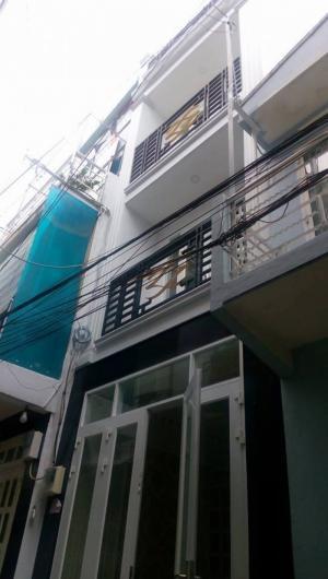 Bán nhà HXH Bùi Văn Thêm, 4 tầng