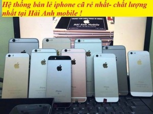 Iphone zin tại Hải Anh store uy tín - chất lượng