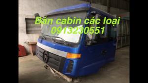 Bán cabin xe tải chiến thắng, Việt trung, isuzu, hino, jac, camc, howo, dongfeng, jac, camc