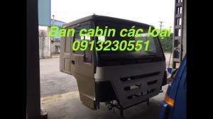 Bán cabin xe tải vinaxuki, thaco, howo, forland, jac, camc, dongfeng, ollin, auman, c&c