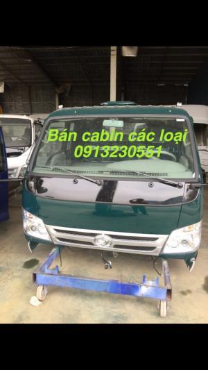 Bán cabin xe tải thaco, jac, camc, vinaxuki, cuu long, tmt, camc, howo, dongfeng, chiến thắng