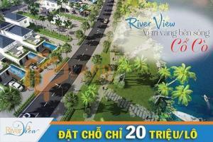 RIVER VIEW CITY - cạnh biển HÀ MY- đường 10m5