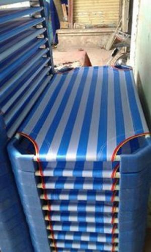 Giường vải lưới siêu thoáng mát dành cho các bé