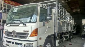 Hino FL dà 7,7m, nhận đóng thùng theo yêu cầu của Quý Khách