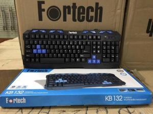 Bàn phím máy tính Fortech K132 hàng chính hãng giá tốt