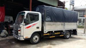 Xe tải JAC 2T4 máy công nghê isuzu 2017