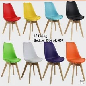 Ghế nhựa chân gỗ, ghế nhựa chân gỗ kinh doanh cà phê