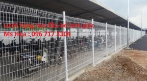 Lưới hàng rào , lưới thép hàng rào , lưới thép hàn sơn tĩnh điện ,