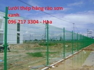 Lưới thép hàn hàng rào sơn tĩnh điện giá tốt
