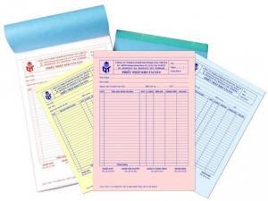 In hóa đơn – biên nhận giá rẻ tại TP.Hồ Chí Minh
