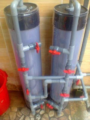 lọc nước phèn gia đình loại nhựa PVc chịu áp