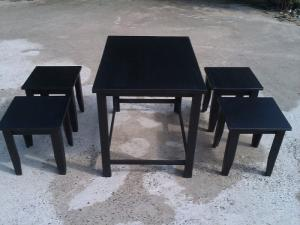 Bàn ghế dùng cho cafe trà sữa