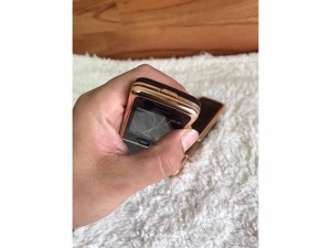 Nokia 8800 rose gold brow, black mạ vàng 18k