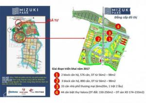 Sở hữu căn hộ tại khu đô thị mới căn Mizuki Park, từ CĐT Nam Long, MT Nguyễn Văn Linh gần Q7