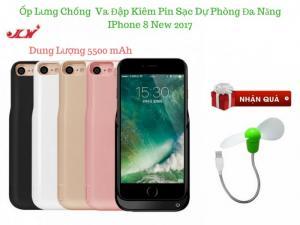 Ốp Kiêm Pin Sạc Dự Phòng Đa Năng IPhone 8 JLW 5500mA - MSN181304