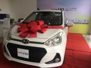 Hyundai I10 2017 CKD 330Tr đầy đủ phụ kiện xe chạy kinh doanh