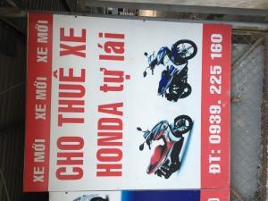 Cho thuê xe máy tại bình dương