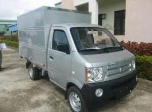 Xe tải Dongben thùng kín, hỗ trợ cho vay trả góp