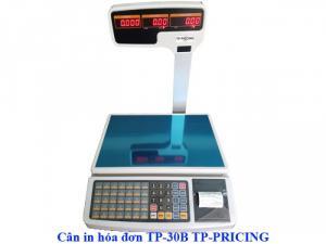 Cân in hóa đơn TP-30B, Cân tính giá in bill TP-30B 30kg
