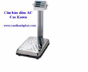 cân bàn đếm AC CAS, Cân bàn đếm 60kg AC, Cân bàn đếm xuất xứ Hàn Quốc