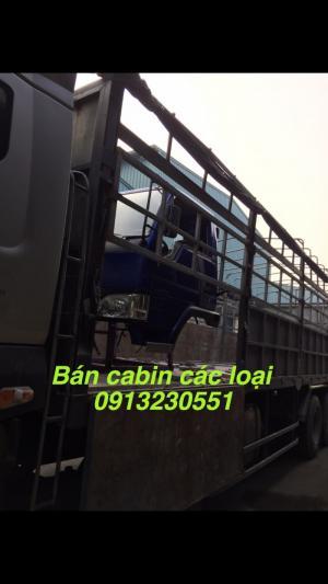 Bán cabin xe vinaxuki, jac, trường giang , cuu long, tmt, howo, dongfeng,